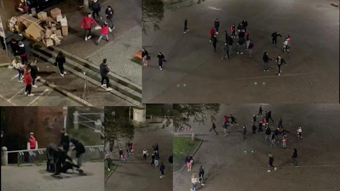 Melegnano, rissa tra giovani in piazza Vittoria