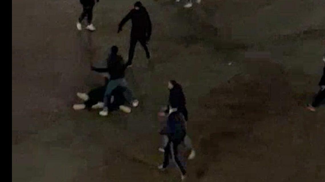 Ieri sera secondo round violento in piazza della Vittoria a Melegnano