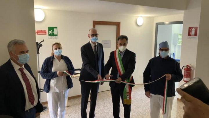 Melegnano, inaugurato il nuovo presidio sociosanitario di via Pertini