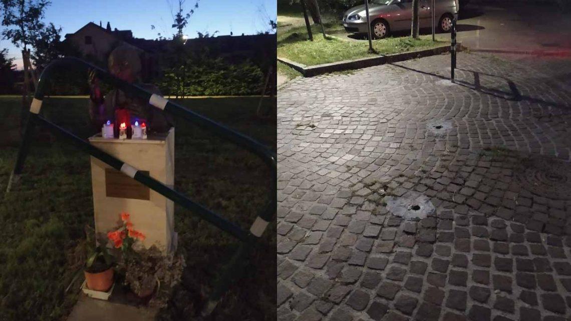 Melegnano, vandali in azione al parco Giovanni Paolo II