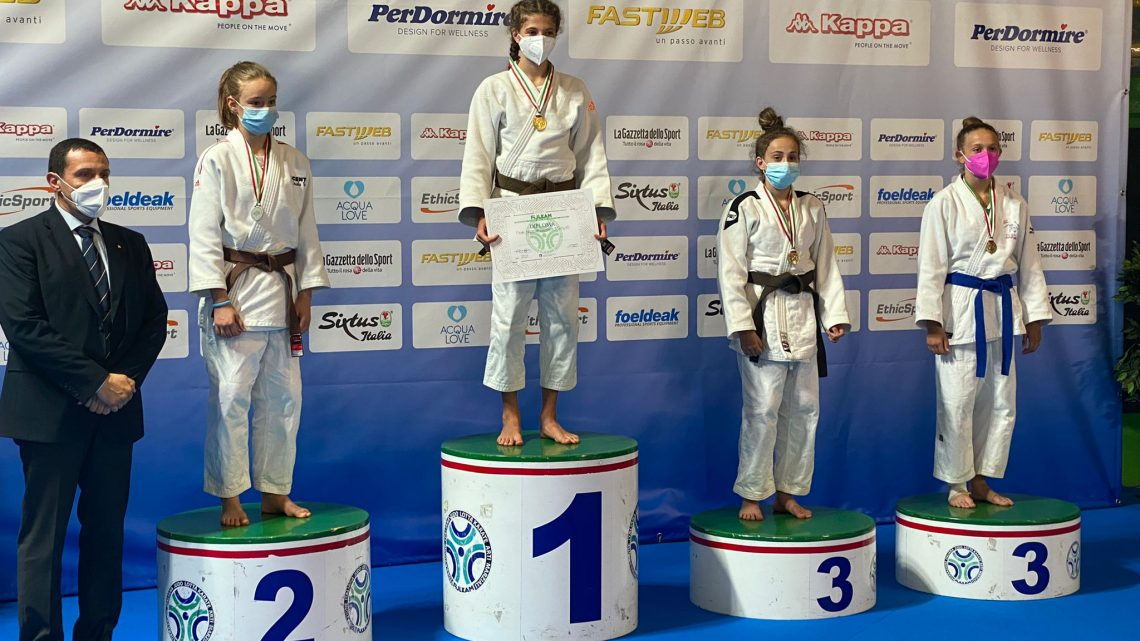 Judo, Ilenia Lo Tufo terza ai campionati italiani