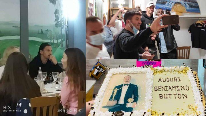 """Ibrahimovic sceglie il """"Kosmos"""" per festeggiare i suoi primi 40 anni"""